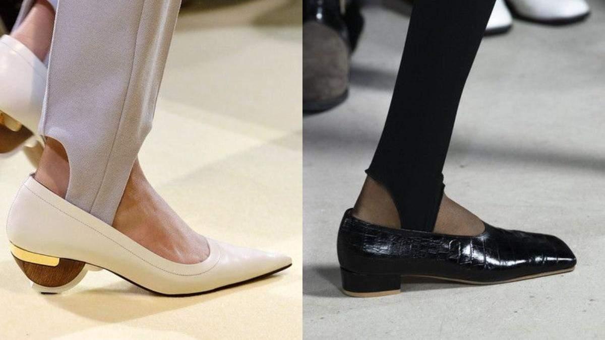 Как модницы носят леггинсы со штрипками