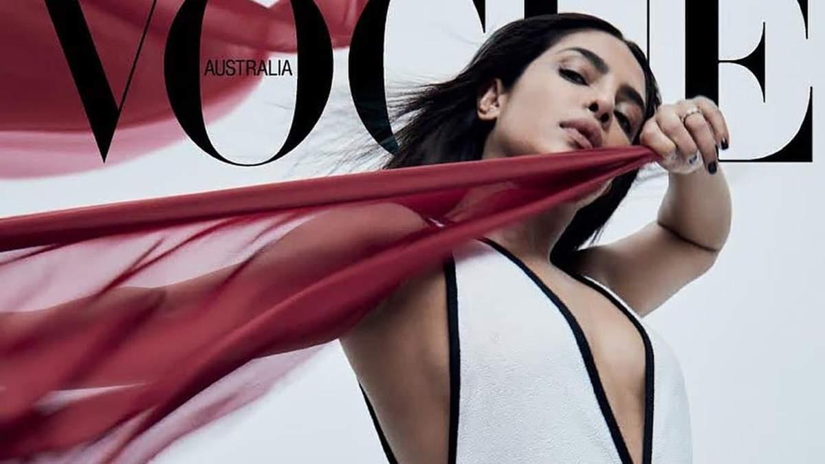 Приянка Чопра снялась в роскошных образах для австралийского Vogue: фото