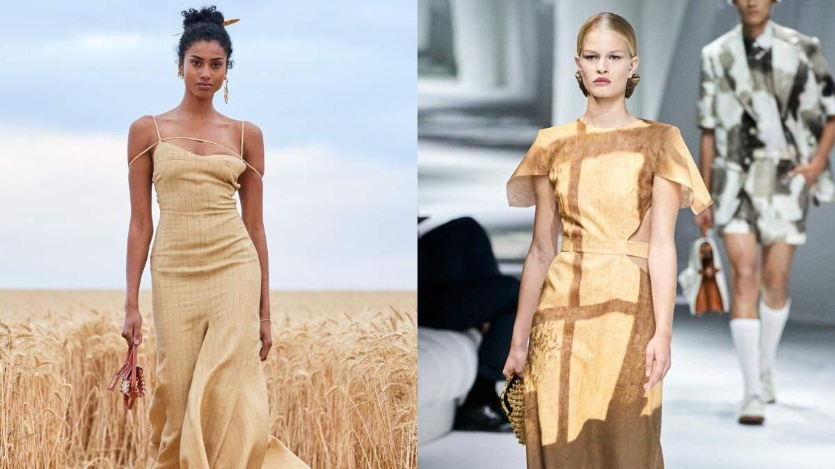 Найстильніші лляні сукні весна – літо 2021: огляд трендових виробів