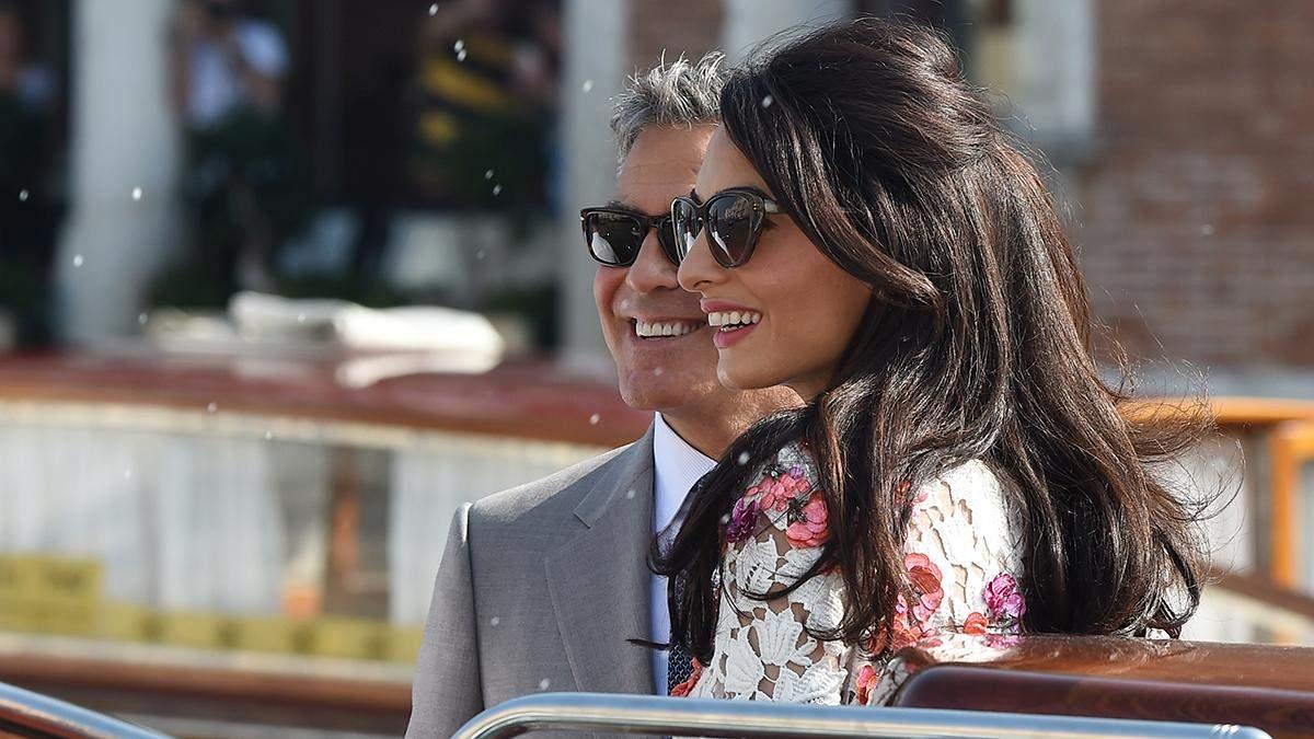 Элегантный образ Амаль и Джорджа Клуни