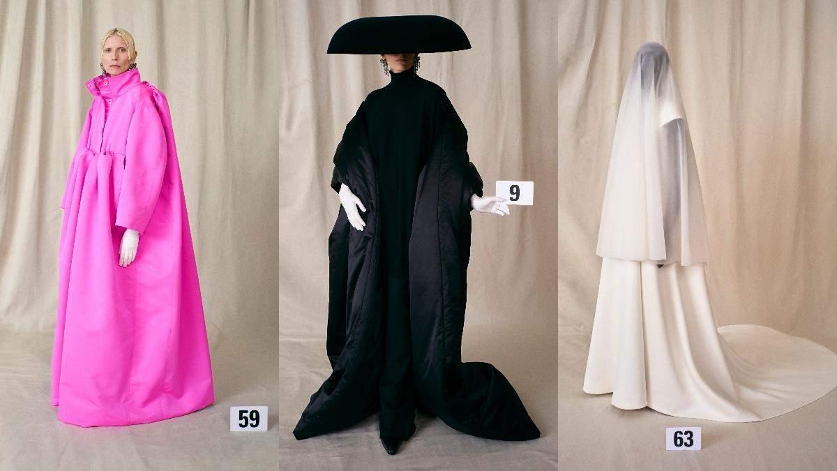 Кутюрная коллекция Balenciaga осень - зима 2021/22