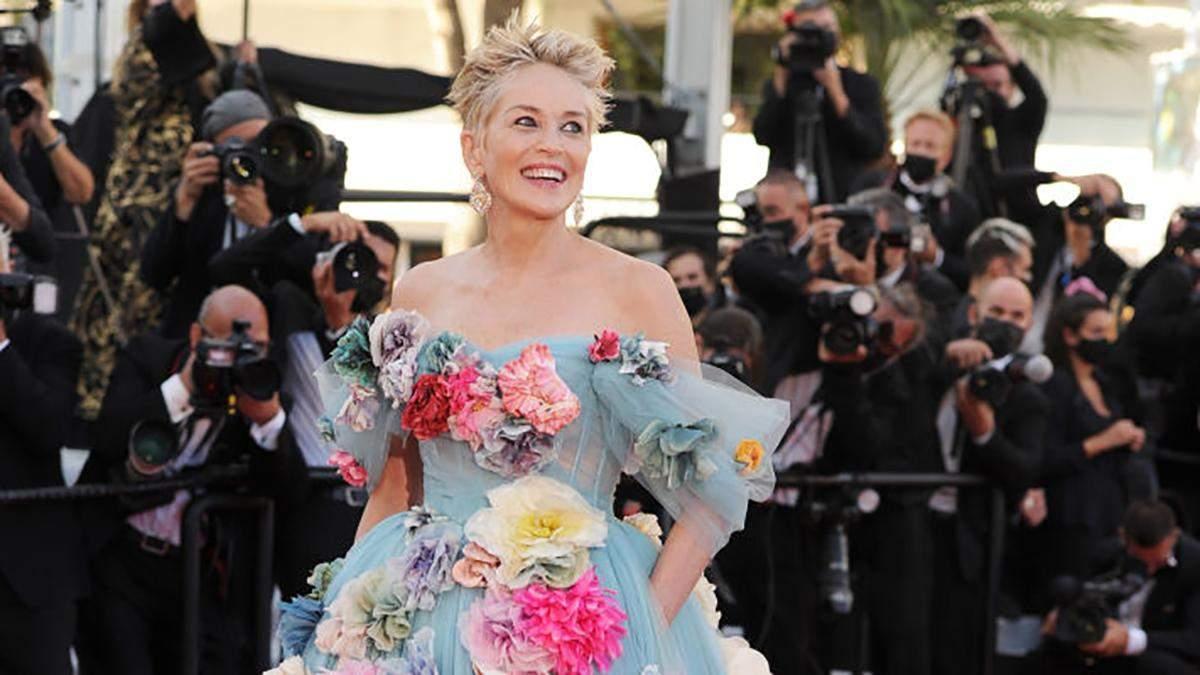 Шерон Стоун вперше за 7 років приїхала на Каннський кінофестиваль