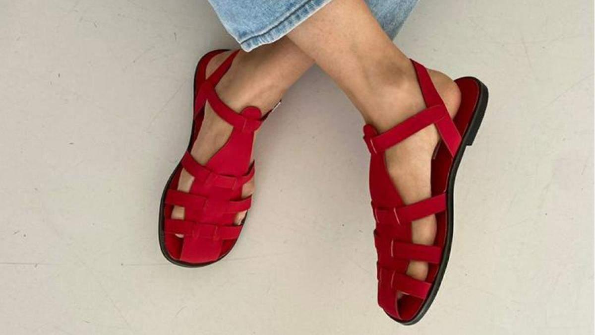 Тренд лета - рыбацкие сандалии