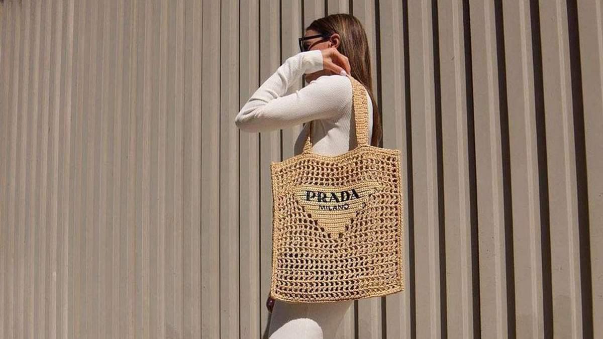 Шопер Prada – трендовий літній аксесуар