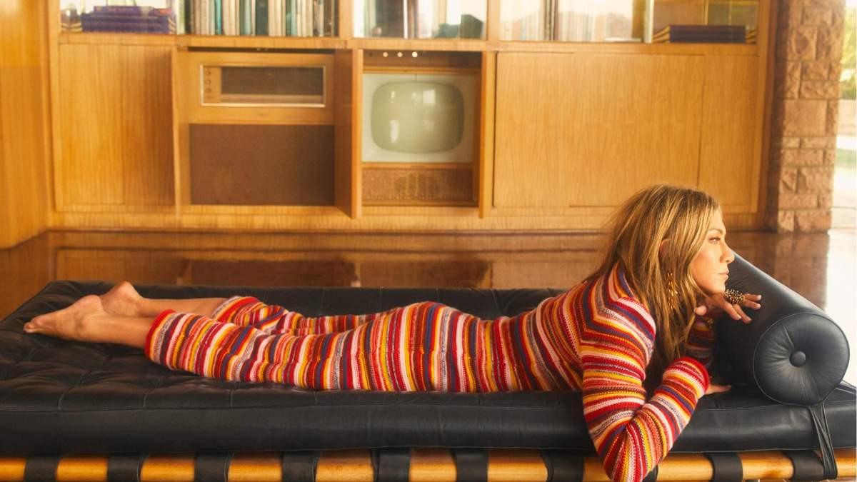 Дженнифер Энистон стала звездой сентябрьского глянца InStyle фото