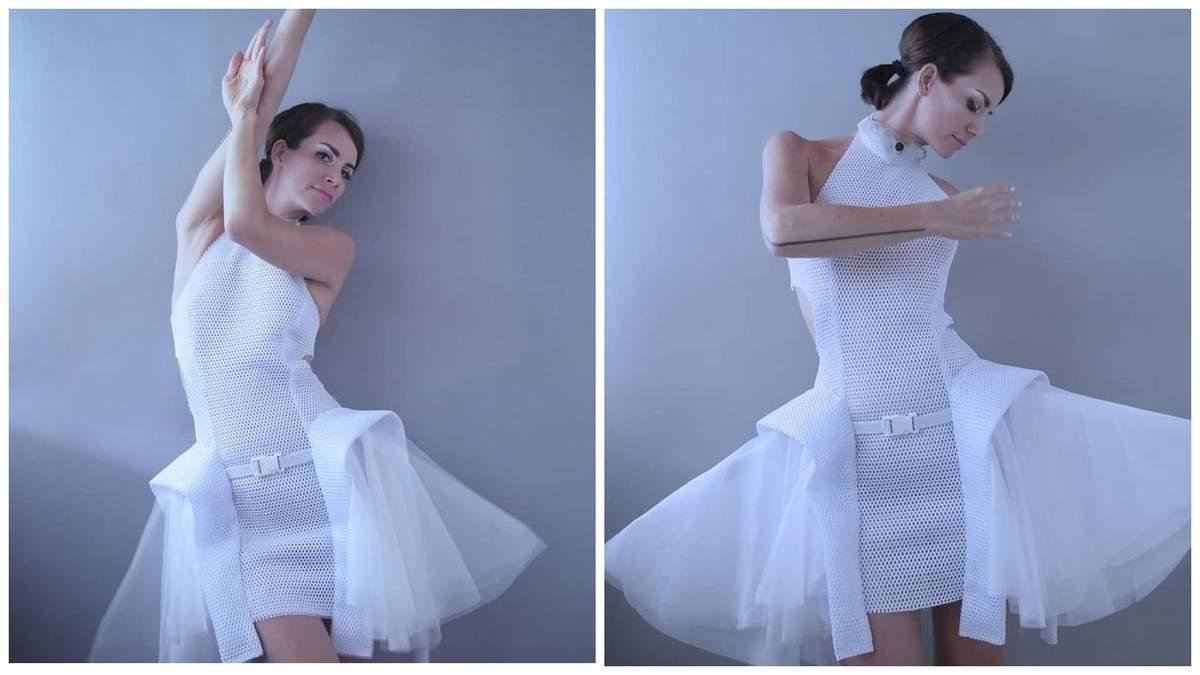 Модельєрка створила інтерактивну сукню, яка допомагає дотримуватися дистанції - Fashion