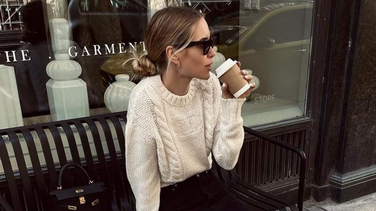 Модні образи на осінь: стильні поєднання показує данська блогерка Перніль Тейсбек - Fashion