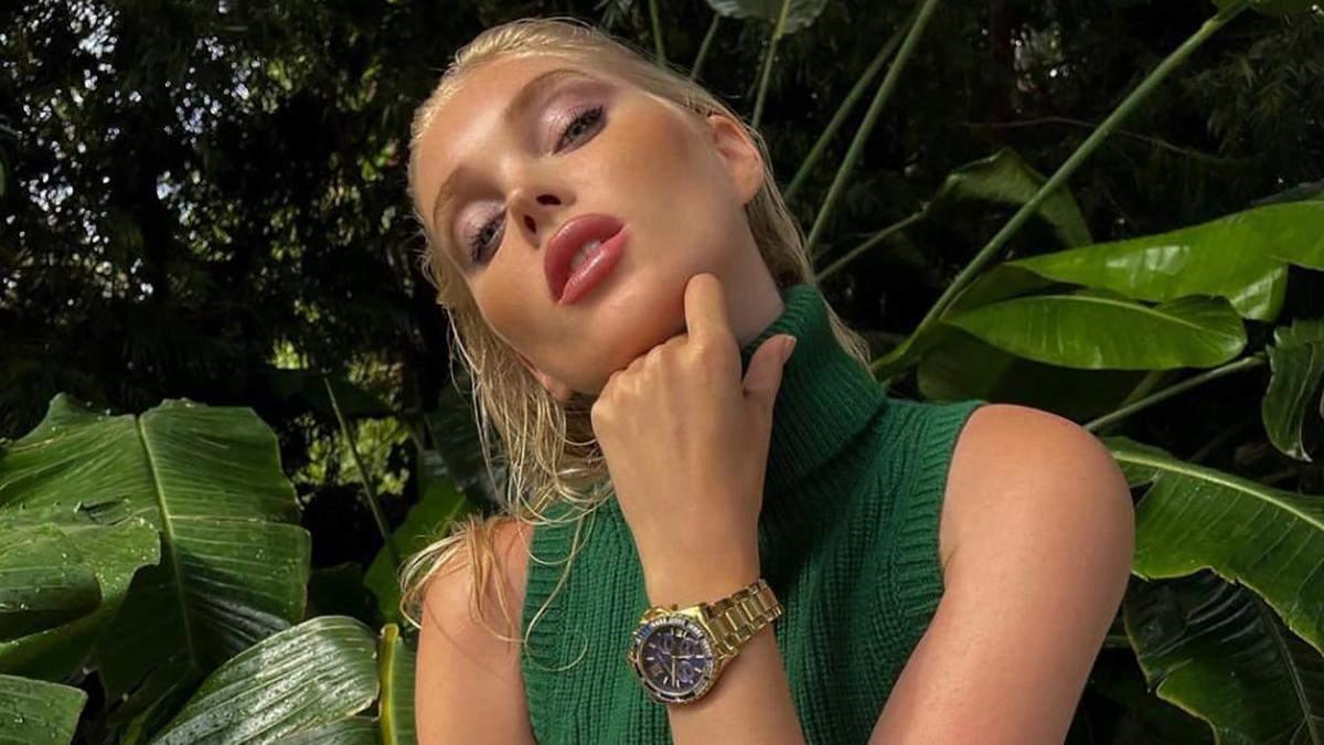 Эльза Хоск снялась в рекламной кампании Michael Kors: волшебные фото