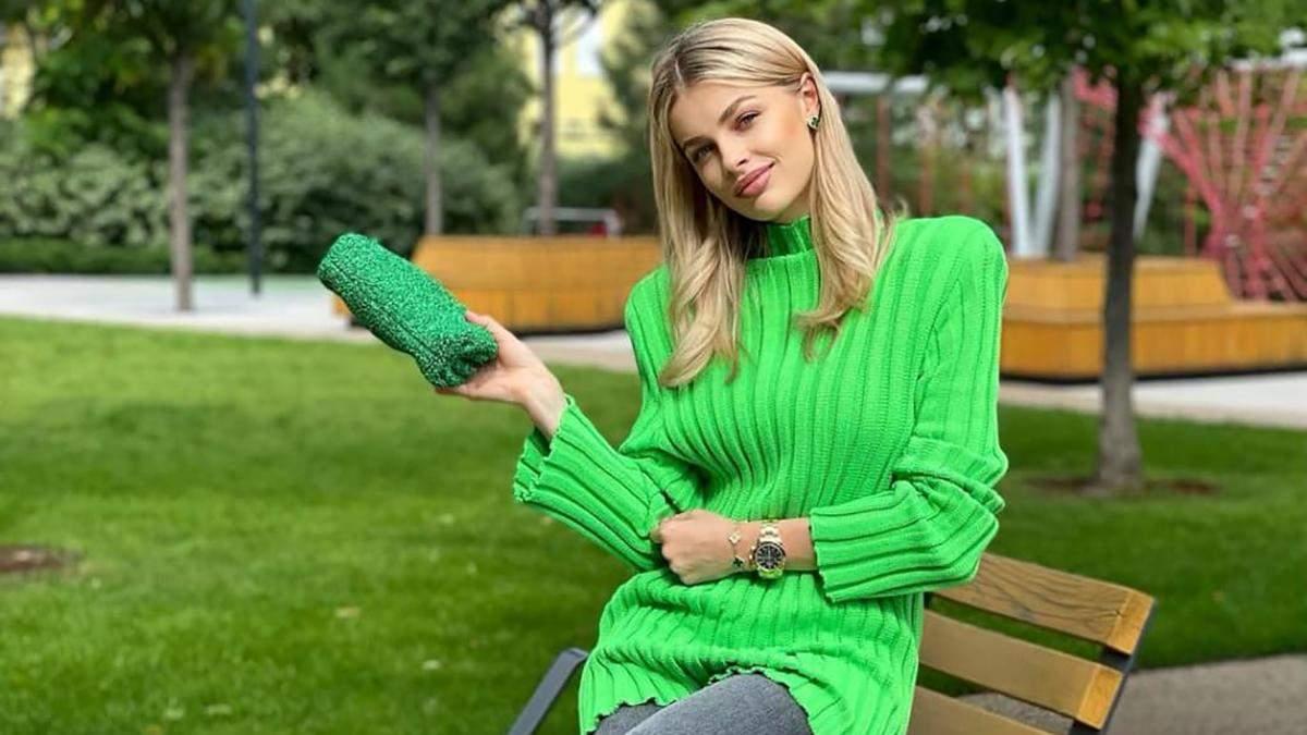 Влада Седан показала стильный осенний образ: новое фото жены Александра Зинченко