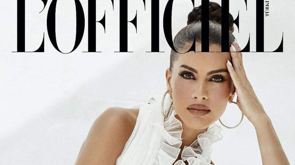 Бразильянка Камила Коэльо поразила сеть роскошными образами для глянца L'Officiel: красивые фото