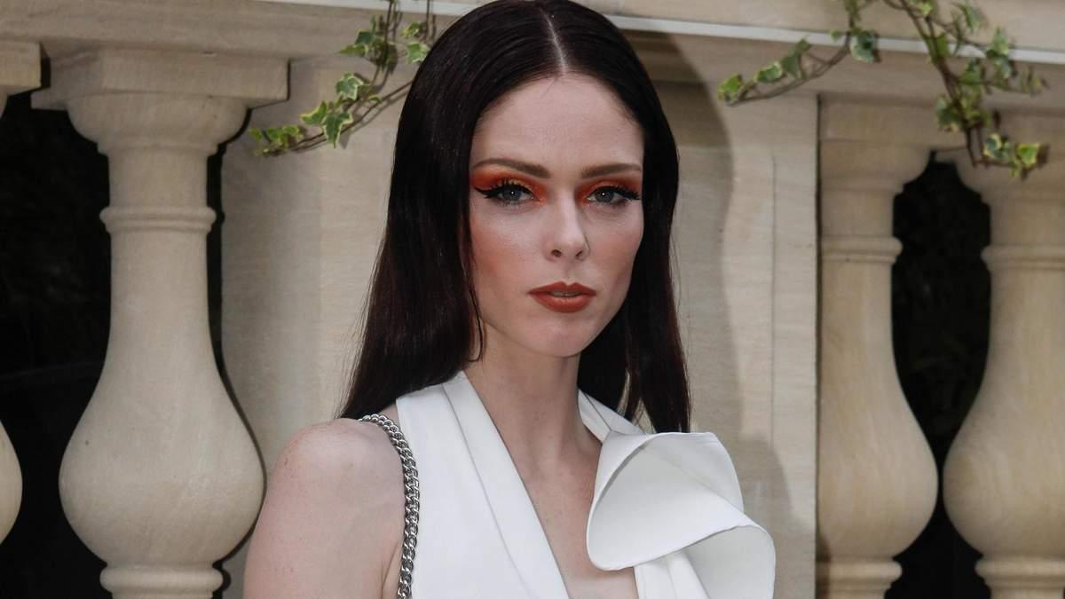 Супермодель Коко Роша надела костюм от украинского бренда, фото роскошного образа