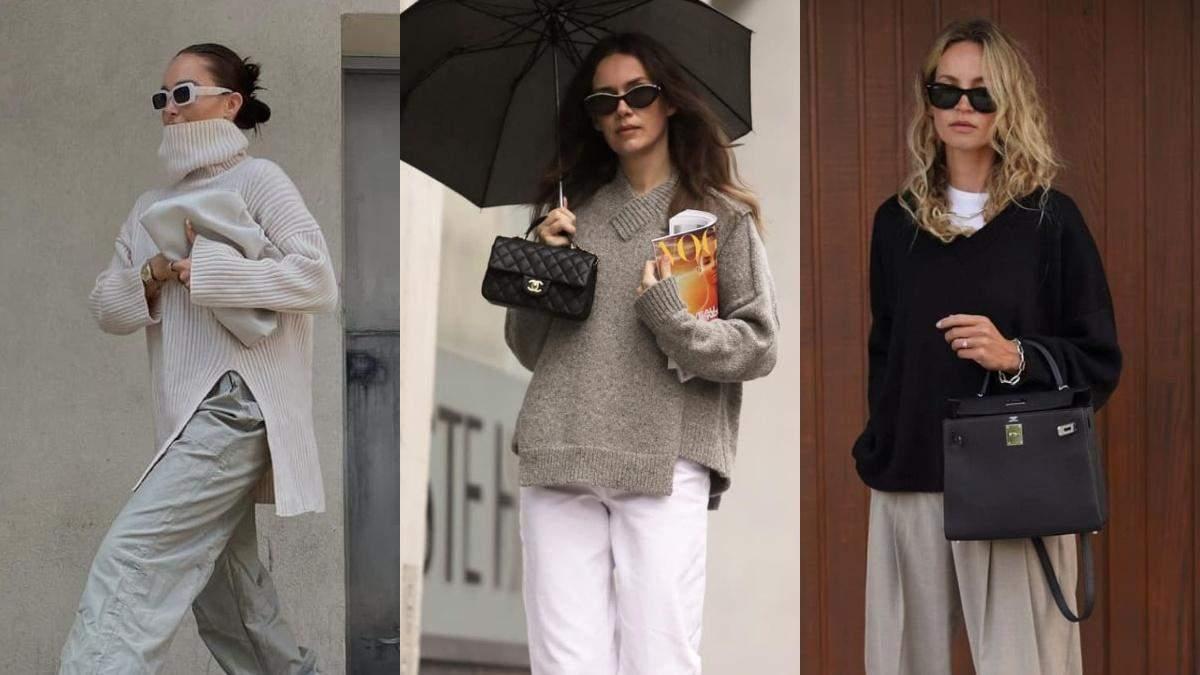 Как стильно одеться осенью: 10 фантастических образов от модных инфлюенсеров