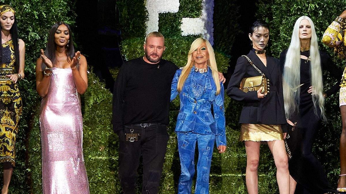 Fendi та Versace представили спільну колекцію Fendace: фантастичний показ - Fashion