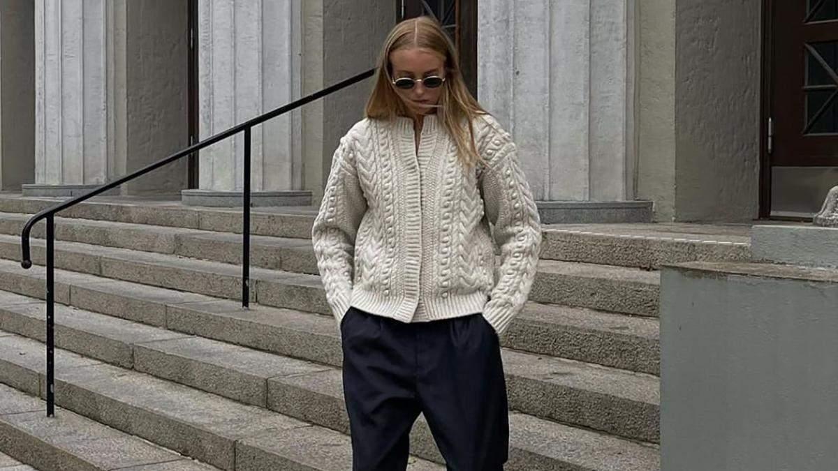 Головна покупка осені – стильні светри: гід наймоднішими моделями сезону - Fashion