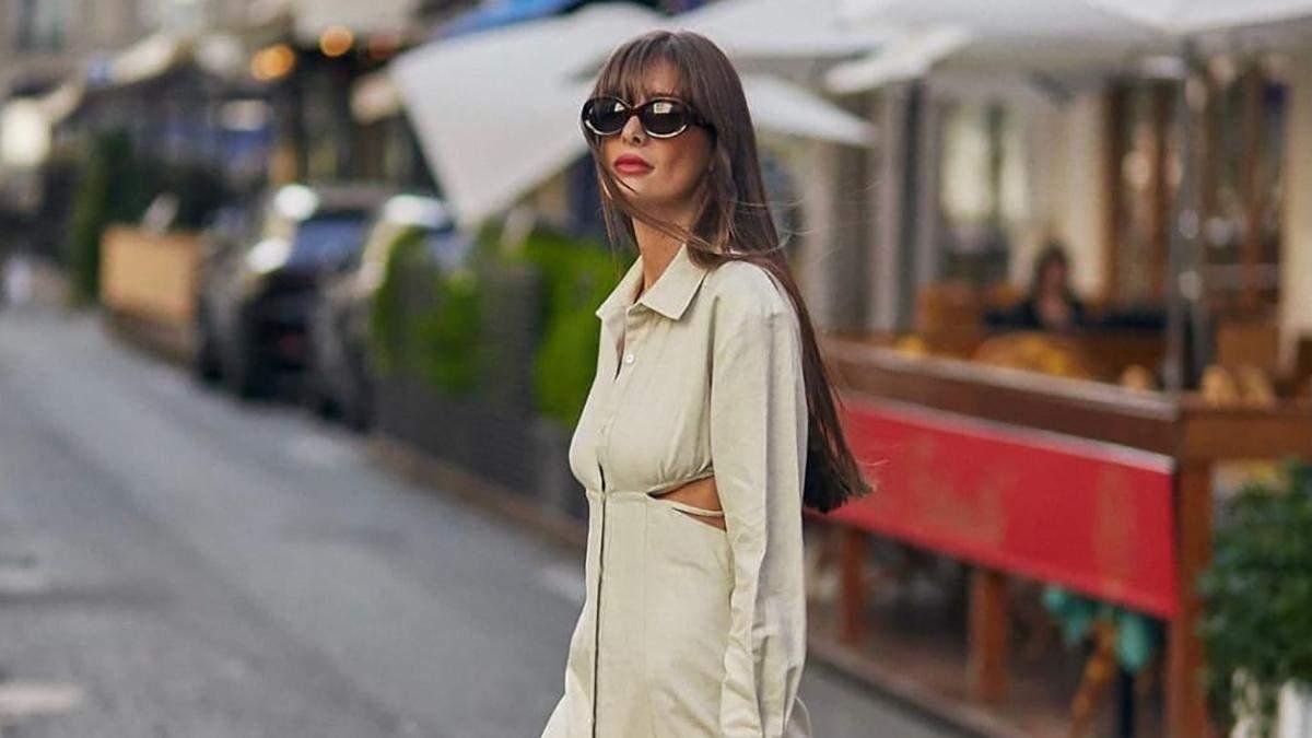 Вечірня сукня для богині: Жюлі Феррері показує ідеальне плаття з вирізами на осінь: фото - Fashion