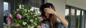 Джинсы с разрезами и рубашка оверсайз: Надя Дорофеева показывает идеальный аутфит на лето
