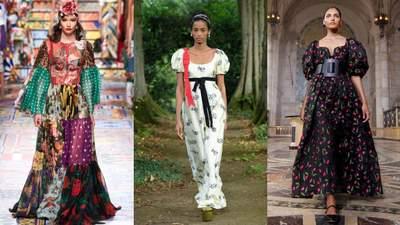 Квіткові сукні – тренд цього сезону: на які фасони треба звернути увагу