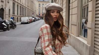 Жакет с водолазкой – любимый прием на осень модницы из Амстердама Негин Мирсалехи: фото