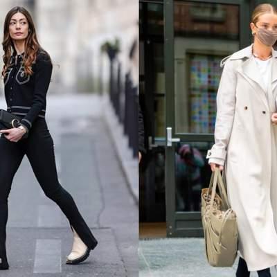 Брюки с разрезами – тренд весны: как легко простой образ превратить в модный