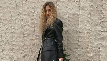 С сумкой от Louis Vuitton: Даша Квиткова поразила дерзким образом во Львове – фото