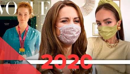 Fashion-мир в 2020 году: тренд на маски, онлайн-съемки для глянца, отмена недель мод