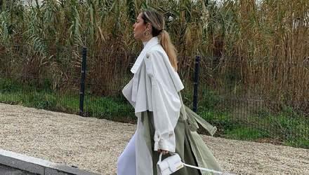 София Коэльо показывает, как выглядеть дорого в белых одеждах: смелый образ