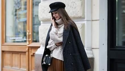 Як не треба носити спідницю взимку: важливі деталі