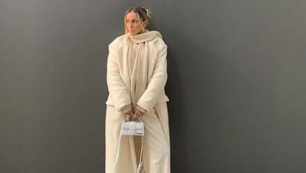 Пальто Zara и сумка Jacquemus: София Коэльо впечатлила молочным образом – волшебные фото