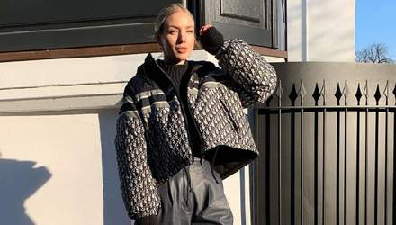 Пуховик Dior и обувь Bottega Veneta: Леони Ханне прогулялась по Гамбургу в люксовом наряде