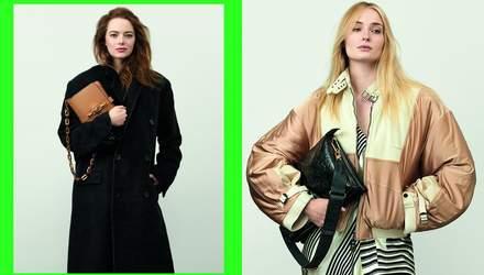 Эмма Стоун и Софи Тернер снялись в рекламе Louis Vuitton: потрясающие кадры