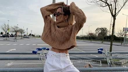 Софія Коельо показала стильний аутфіт, який можна легко повторити: образ із мас-маркету