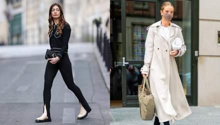 Штани з розрізами – тренд весни: як легко простий образ перетворити в модний