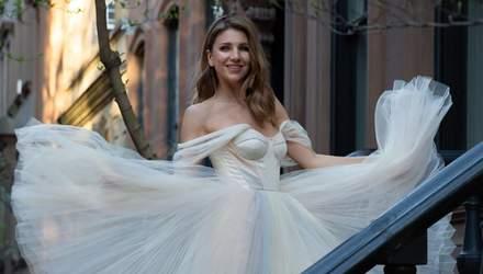 Катя Сільченко та бренд весільних суконь WONA представили спільну колекцію: вишукані вироби
