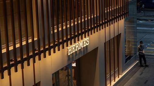 Модний дім Hermes у Китаї заробив понад 2 мільйони доларів у перший день скасування карантину