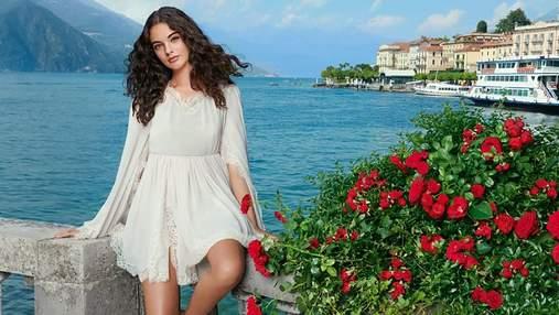 Донька Моніки Беллуччі знялася у рекламі парфумів Dolce & Gabbana: яскраве відео та фото