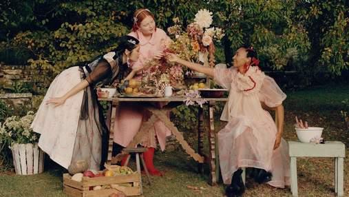 Рекламна кампанія Simone Rocha x H&M в англійських садах: романтичні кадри