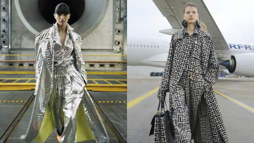 Модний показ в аеропорту: колекція Balmain осінь – зима 2021/2022