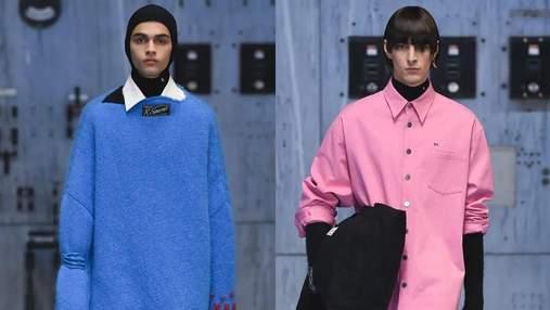 Стеганые куртки и яркие свитера: Раф Симонс представил коллекцию своего бренда