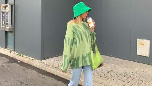 Вчимося поєднувати наймодніший колір весни: стильний вихід Софії Коельо