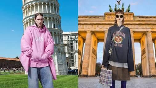 Balenciaga представили коллекцию pre-fall на фоне памятников архитектуры со всего мира: фото