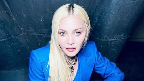 Мадонна вышла в свет в роскошном костюме от Gucci: эффектные фото