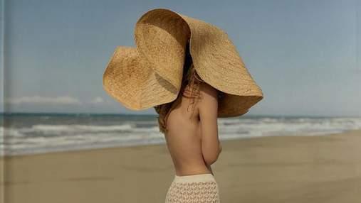Соломенные шляпы, панамы и платки: Ruslan Baginskiy представил летнюю коллекцию – фото