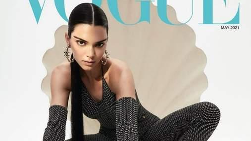 Кендалл Дженнер снялась для глянца Vogue Hong Kong в футуристических образах: дерзкие кадры