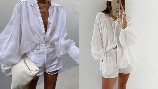 С чем носить шорты этим летом: актуальные сочетания, которые вам понравятся