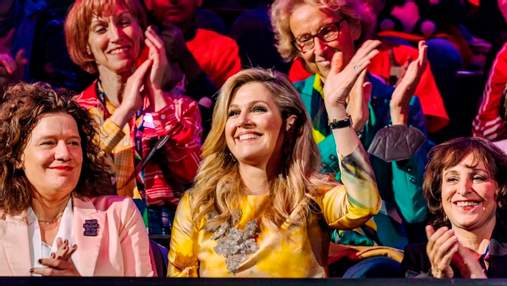 Королева Максима відвідала Євробачення-2021 в розкішному образі: фото