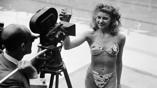 Как выглядел первый купальник бикини 75 лет назад: архивные фото