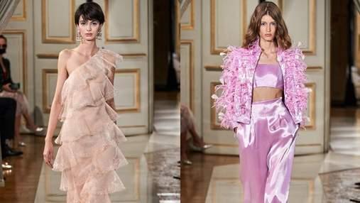 Cяюче вбрання: Armani Privé представили кутюрну колекцію осінь – зима 2021/22