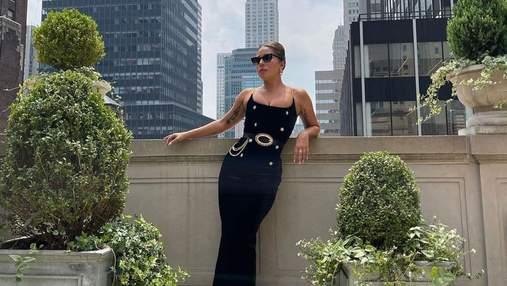 Леди Гага очаровала и поразила фанатов образами в черных платьях: эффектные кадры