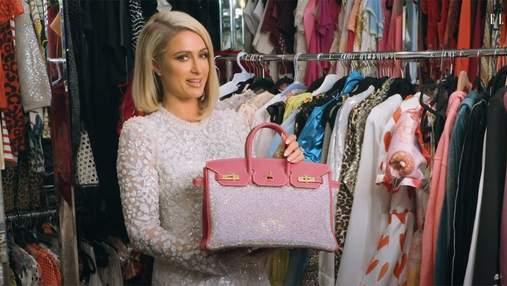 Пэрис Хилтон показала свою самую дорогую сумку за 65 тысяч долларов