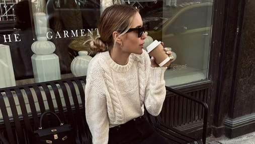Модные образы на осень: стильные сочетания показывает датская блогерша Перниль Тейсбек